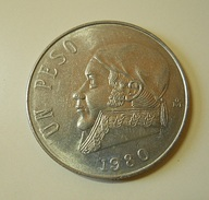 Mexico 1 Peso 1980 - Messico