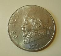 Mexico 1 Peso 1981 - México