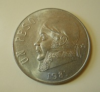 Mexico 1 Peso 1981 - Messico