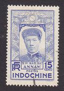 Indo-China, Scott #176, Used, Emperor Bao-Dai, Issued 1936 - Indochina (1889-1945)