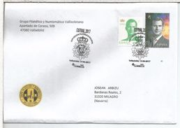 ESPAÑA VALLADOLID CC CON MAT POLICIA POLICE - Police - Gendarmerie