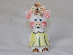 Russian Vintage Statuette Pig - Varkens