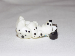 Russian Vintage Statuette Dog Dalmatian - Dogs