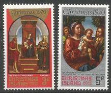 Christmas 1970 35-36 ** Noël Tableaux Raphaël - Morando - Christmas Island