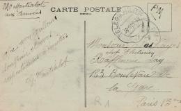 Cachet Télégraphique Militaire Du 20 09 1939 Sur Carte Postale De Spincourt - Marcophilie (Lettres)
