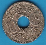 FRANCE 10 CENTIMES LINDAUER 1922 POISSY - France