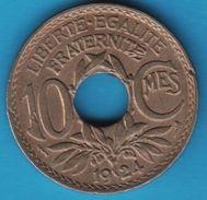 FRANCE 10 CENTIMES LINDAUER 1924 POISSY - France