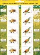 Österreich-  Mi. Nr.  2819 - 2020  Postfrisch    2009 SELBSTKLEBENDE MARKEN    TIERSCHUTZ - 2001-10 Unused Stamps