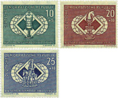 Ref. 30698 * NEW *  - GERMAN DEMOCRATIC REPUBLIC . 1960. 14th CHESS OLYMPIAD IN LEIPZIG. 14 OLIMPIADA DE AJEDREZ EN LEIP - Unused Stamps