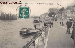 CHATELLERAULT CRUE DU 13 MAI 1910 QUAI NAPOLEON 86 VIENNE - Chatellerault
