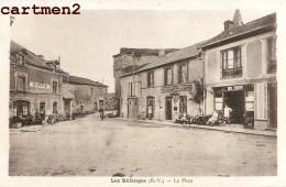 LES BILLANGES LA PLACE CAFE ANIME 87 HAUTE-VIENNE - France