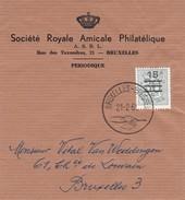 Belgie 1172. Zeer Mooi. Afstempeling 21.2.1961 - Stamped Stationery