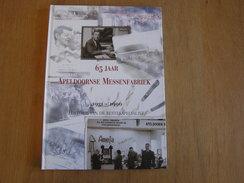 65 JAAR APELDOORNSE MESSENFABRIEK Régionaal Amefa Couteaux Couverts Fourchette Lame De Rasoir Industrie Apeldoorm - Histoire