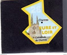 Magnets Magnet Le Gaulois Departement Tourisme France 28 Eure Et Loir - Tourism