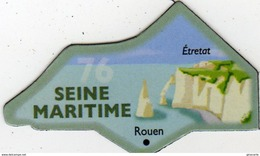 Magnets Magnet Le Gaulois Departement Tourisme France 76 Seine Maritime - Tourisme