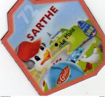 Magnets Magnet Le Gaulois Departement France Costume 72 Sarthe - Tourism