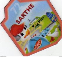 Magnets Magnet Le Gaulois Departement France Costume 72 Sarthe - Tourisme