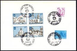 YUGOSLAVIA SARAJEVO 1982/1983 - 14th OLYMPIC WINTER GAMES SARAJEVO ´84 - FDC - OLYMPIC VENUES / SKIING - Winter 1984: Sarajevo