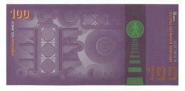 "Werbenote (promotional Note) ""KURZ Traffic 100"", RRRRR, UNC, Hologram - Deutschland"