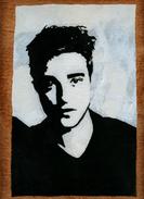 Hand-made Painting Robert Pattinson - Olieverf
