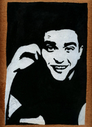 Hand-made Painting Robert Pattinson - Olii