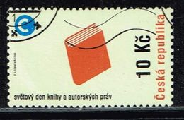 Tschechien 1998, Michel# 177 O World Book And Copyright Day - Czech Republic