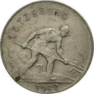 Luxembourg, Charlotte, Franc, 1962, SPL, Copper-nickel, KM:46.2 - Luxembourg