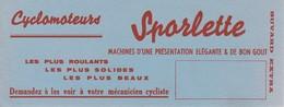 BUVARD : Cyclomoteurs SPORLETTE - Moto & Vélo