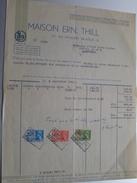 Maison ERN. THILL Spécialité De Cartes Vues / Postkaarten ( Nels ) > Abbé G. Van Zuylen Château ARGENTEAU - 1941 ! - Imprenta & Papelería