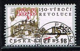 Tschechien 1998, Michel# 189 O 150th Anniversary Of 1848 Revolution - Czech Republic
