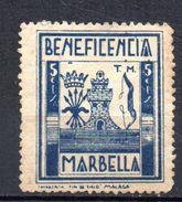 Viñeta Marbella. - Vignettes De La Guerre Civile