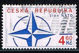 Tschechien 1999, Michel# 212 O The Czech Republic's Entry To NATO - Czech Republic
