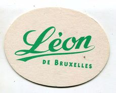 SOUS BOCKS - BIERE - LEON DE BRUXELLES PAR FISCHER - Beer Mats