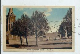 Mons-en-Pévèle (59) : La Place Du Monument Aux Morts En 1952  PF. - France