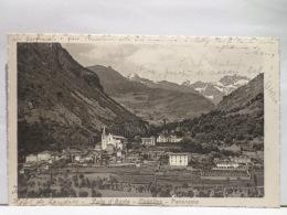 """FBS,COLLEZIONE,ST.POSTALE,CARTOLINA POSTALE,EUR,ITA,VAL D""""AOSTA,CHATILLON,AFFRANCATA,ISOLATO,ANIMATA,PANORAMICA - Aosta"""