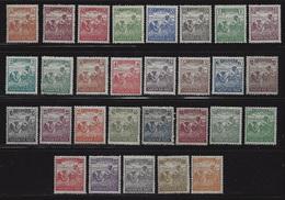 HUNGARY-1920/24. Harvester  Cpl.Set  MNH!!  Mi:326-354. - Unused Stamps