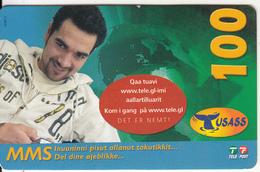 GREENLAND - Boy, USASS/Tele Post Prepaid Card 100 Kr., Exp.date 24/10/09, Used - Groenlandia
