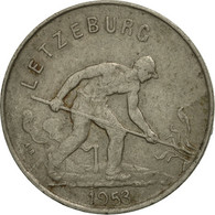 Luxembourg, Charlotte, Franc, 1953, SUP+, Copper-nickel, KM:46.2 - Luxembourg