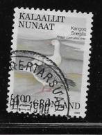 GREENLAND, 1987-90 USED # 179    FALCON - Groenland