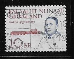 GREENLAND, 1990 USED # 231    FREDERICK LYNGE  Politicien  Used - Groenland