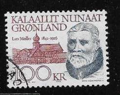 GREENLAND, 1991-2, USED # 249    LARS MOLLER, Newspaper Editor - Groenland