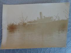 PHOTO  LOT 3 PHOTOS PAQUEBOT NAVIRE BATEAU CASSEL 1920 - Bateaux