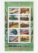Collection Jeunesse - Les Legendes Du Rail -  2001 - Yet T N° 38 - Blocks & Kleinbögen