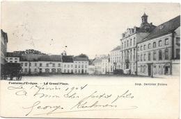 Fontaine-l'Evêque NA22: La Grand'Place 1904 - Fontaine-l'Evêque