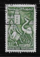 TUNISIA.  1959-61, USED #354  DRUMMER &CAMRL   USED - Tunisie (1956-...)