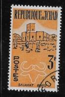 CHAD, 1961, CTO #73, SALAMAT & BUFFALO,   CTO With Gum - Tchad (1960-...)