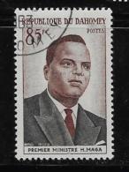 DAHOMEY 1960, COT # 140, PRIME MINISTER HUBERT  MAGA   CTO With Gum - Bénin – Dahomey (1960-...)