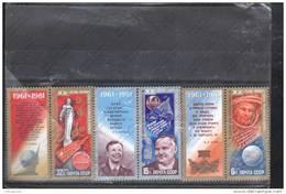 SELLOS  DE  RUSIA  Y URSS  Nº 4793 Al 4795 - Astrología
