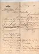 """Austria - Vienna - Fattura Della Ditta """" Kupfer & Glaser """"  Datata  20 Marzo 1902 - (FDC4987) - Austria"""