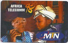 South Africa - ITU Africa Telecomm 98 - MTN Complimentary - Afrique Du Sud